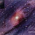 Andromeda Galaxy Central Core by John Chumack