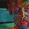 Nude-J Painting by Piotr Antonow