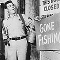 Andy Griffith In The Andy Griffith Show by Silver Screen