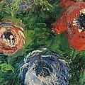 Anemonies by Claude Monet