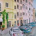 Anfiteatro Hotel Rome Italy by Frank Hunter
