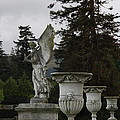 Angel And Garden Urns by Christiane Schulze Art And Photography