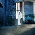 Angel At Window by Jill Battaglia