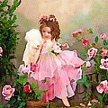 Angel And Baby  by Catherine Lott