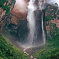 Angel Falls In Venezuela by Dave Welling