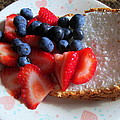 Angel Food And The Berries by Kay Novy