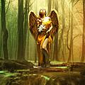 Angel Gabriel by Babette Van den Berg