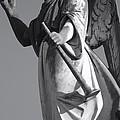 Angel Gabriel With Trumpet by Julie Lee