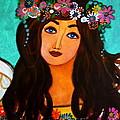 Angel In Bloom IIi by Pristine Cartera Turkus
