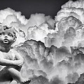Angel In The Clouds by Carolyn Marshall
