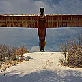 Angel In The Snow II by David Pringle