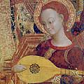 Angel Musician by Sassetta