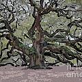 Angel Oak Digital Art by Dale Powell