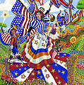 Angel Of American Patriotism by Jacquelin Vanderwood