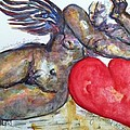 Angel Of Contentment by Suzanne Macdonald
