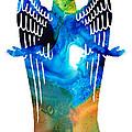 Angel Of Light - Spiritual Art Painting by Sharon Cummings