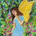 Angel Of The Garden by Wendy Le Ber