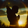 Angel Silhouette by Gothicrow Images