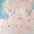 Angel Stairway by Karen Jane Jones