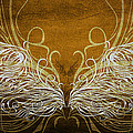 Angel Wings Gold by Angelina Vick