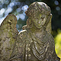 Angel With Broken Arm II Cave Hill Cemetery Louisville Kentucky  by Sally Rockefeller