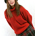 Angela Plaid Skirt by Gary Gingrich Galleries