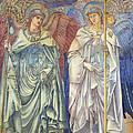 Angeli Ministrantes by Sir Edward Coley Burne-Jones