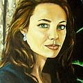 Angelina Jolie by Rusty W Hinshaw