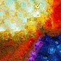 Angels Among Us - Emotive Spiritual Healing Art by Sharon Cummings