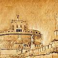 Angels Bridge And Castle by Stefano Senise