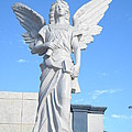 Angels Watch Over You by Lew Davis
