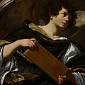 Angels With Attributes Of The Passion by Simon Vouet