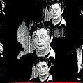 Angie Dickinson Robert Mitchum Collage Young Billy Young Set Old Tucson Arizona 1968-2013 by David Lee Guss