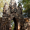 Angkor Thom North Gate 01 by Rick Piper Photography