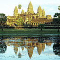 Angkor Wat Reflections 01 by Rick Piper Photography