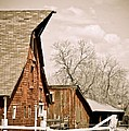 Angle Top Barn by Marilyn Hunt
