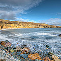 Anglesey Seascape by Adrian Evans