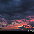 Angry Sunset by Michael Waters