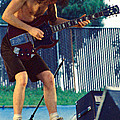 Angus Young Of A C D C At Day On The Green Monsters Of Rock by Daniel Larsen