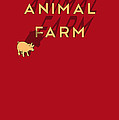 Animal Farm Book Cover Poster Art 1 by Nishanth Gopinathan