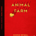 Animal Farm Book Cover Poster Art 2 by Nishanth Gopinathan