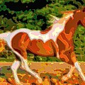Animal Portrait The Horse by Mary Clanahan