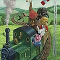 Animal Train Journey by Martin Davey
