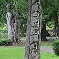 Animal Tree Totem by Maria Urso