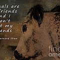 Animals Are My Friends by Janice Pariza