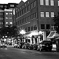 Ann Arbor Black And White by Pat Cook