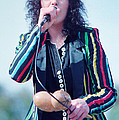 Ann Wilson Of Heart At 1981 Day On The Green In Oakland Ca by Daniel Larsen