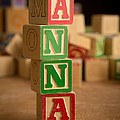 Anna - Alphabet Blocks by Edward Fielding