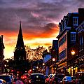 Annapolis Night by Olivier Le Queinec