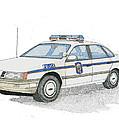 Anne Arundel County Police by Calvert Koerber